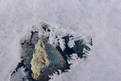 Frozen Rock Poster
