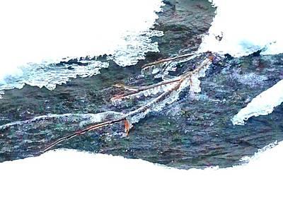 Frozen Stream  Poster