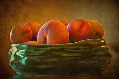 Fruit In A Bowl Poster by Patricia Strand