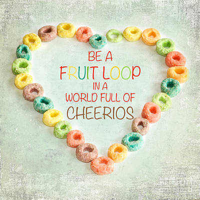 Fruit Loop Poster