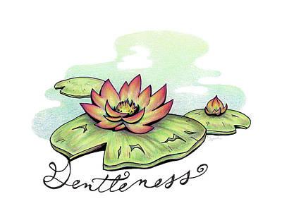 Fruit Of The Spirit Series 2 Gentleness Poster