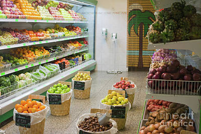 Fruit Shop Poster by Gaspar Avila