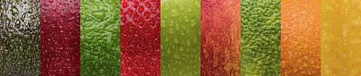 Fruit Skins Poster by Steve Gadomski