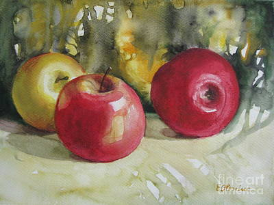 Poster featuring the painting Fruits Of The Earth by Elena Oleniuc