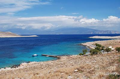 Ftenagia Beach On Halki Poster