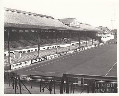 Fulham - Craven Cottage - East Stand Stevenage Road 1 - Leitch - September 1969 Poster by Legendary Football Grounds