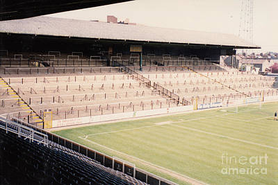 Fulham - Craven Cottage - North Stand Hammersmith End 1 - April 1991 Poster