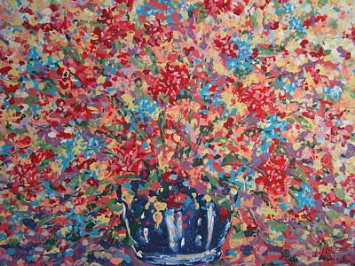 Full Flower Bouquet. Poster