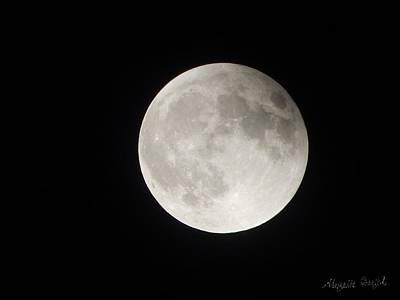 Full Planet Moon Poster
