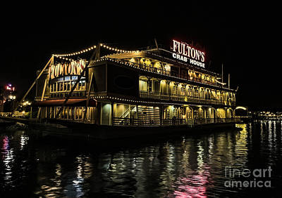 Fulton's Crab House Night Lights Poster