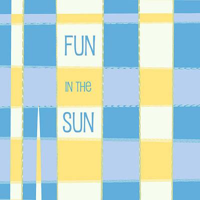 Fun In The Sun Poster by Bonnie Bruno