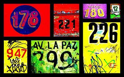 Funky Calles De Santiago  Poster by Funkpix Photo Hunter