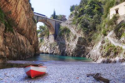 Furore - Amalfi Coast Poster by Joana Kruse