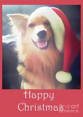 Furry Christmas Elf Poster