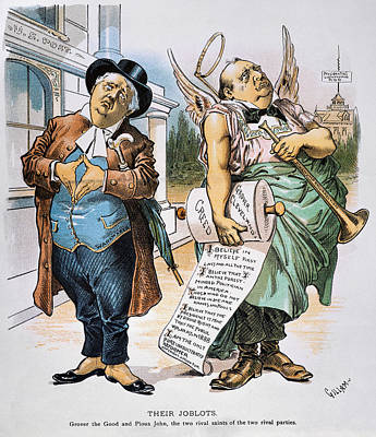 G. Cleveland Cartoon, 1892 Poster by Granger
