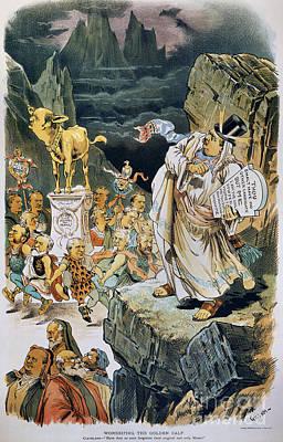 G. Cleveland Cartoon Poster by Granger