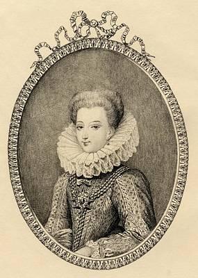 Gabrielle D Estrees, Duchess Of Poster by Vintage Design Pics