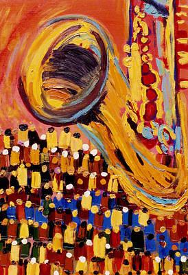 Gabriel's Horn Poster by Indigene Theresa Gaskin