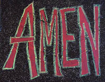 Galactic Amen Poster by Adrianna Stepiano