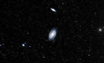 Galaxies M81 And M82 Poster
