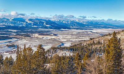 Galena Summit Idaho Poster