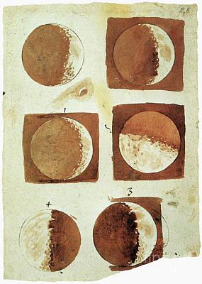 Galileo - Moon Poster