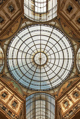 Galleria Victor Emmanuel 1 Poster by Art Ferrier