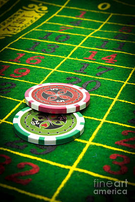 Gambling Chips Poster