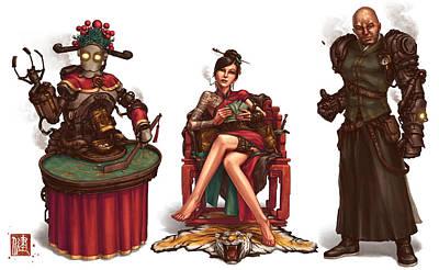 Gambling Den Concept Poster by James Ng
