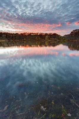Gammino Pond Sunset Poster