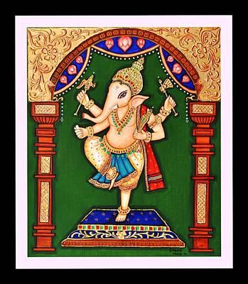 Ganesh The Elephant Headed Deity Poster