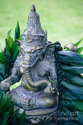 Ganesha Ganesa Ganapati Vinayaka Pillaiyar Hindu Pantheon Poster by Sharon Mau