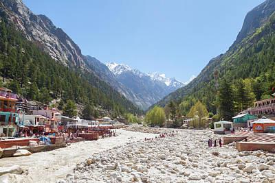 Gangotri - Indian Himalayas Poster by Nila Newsom
