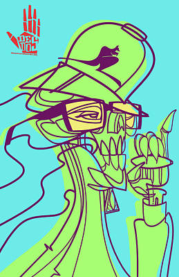 Ganja Man Poster by Nelson Dedos Garcia
