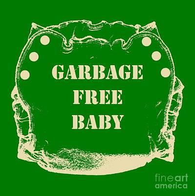 Garbage Free Baby Poster