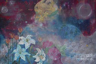 Garden Angel Poster by Noelle Rollins