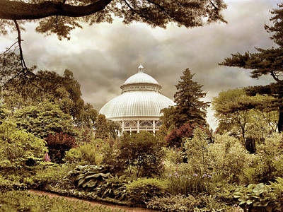 Garden Conservatory Poster by Jessica Jenney
