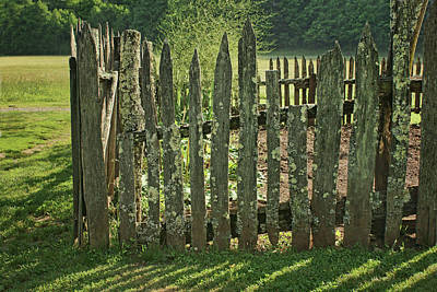 Poster featuring the photograph Garden - Fence by Nikolyn McDonald