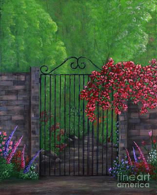 Garden Gateway Poster