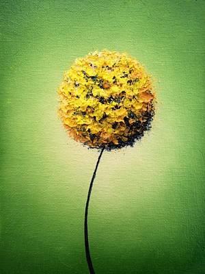 Garden Glow Poster by Rachel Bingaman