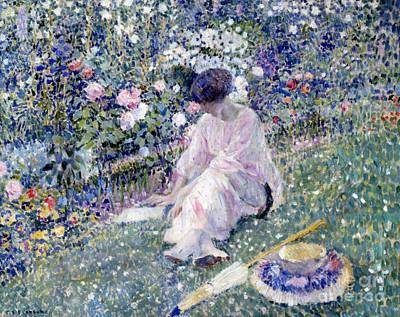Garden In June Poster