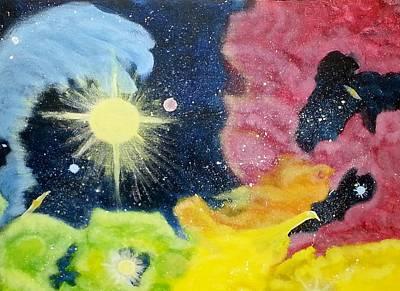 Garden Nebula Poster by Diana Robbins