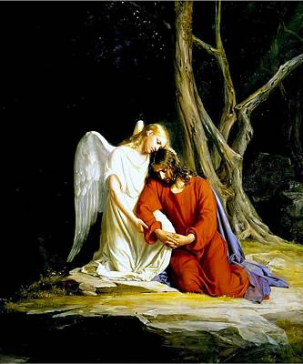 Garden Of Gethsemane 1873 Carl Heinrich Bloch  Poster by Movie Poster Prints