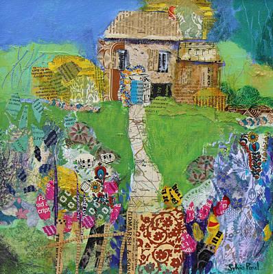 Garden Path Poster by Sylvia Paul