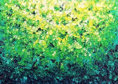 Garden Serenade Poster