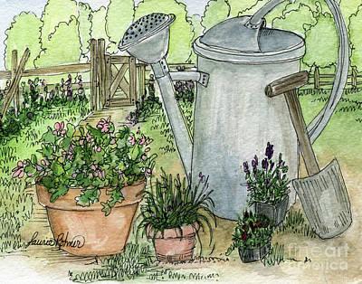 Garden Tools Poster