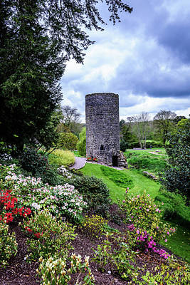 Garden Tower - Blarney Ireland Poster