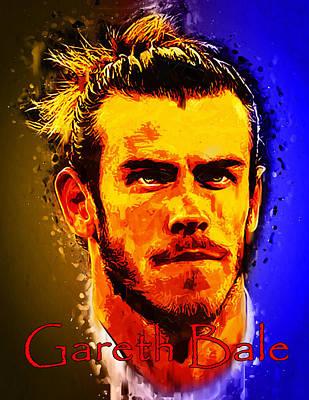 Gareth Bale Poster by Edelberto Cabrera