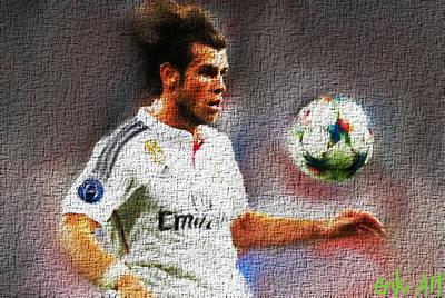 Gareth Bale  Poster by Enki Art
