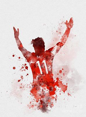 Gareth Bale Poster by Rebecca Jenkins